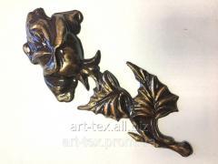 Rose 6.08 225*90mm bronze