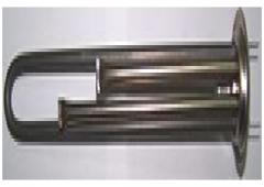 Тен 1300 W (1) фланец d63, нержавейка, Термекс Ет, Н6313 ЕТ