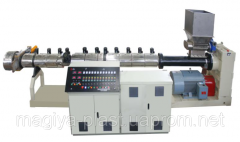 Laboratory extruder for tests of software, PE (a