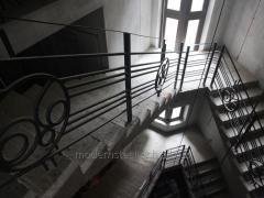 Handrail. Ogorodzhennya balkon_v that skhodovy