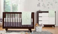 Crib from a natural tree (oak).