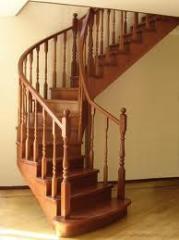 Лестницы деревянные, Лестницы деревянные Киев,