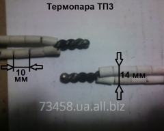 Thermocouple tp3, TXA, (K), +1300 degrees,