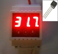 Temperature regulator D, from-55 to +125 degrees,