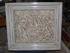 Picture carved - Christmas