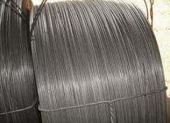 Wire low-carbonaceous for reinforcing. The wire