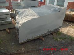 Blocks of a gabbro of Bukinskoye
