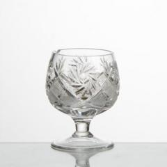 Set (6 pieces) of crystal shot glasses of 150 g