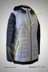 Двухцветная легкая куртка, модель 17-11