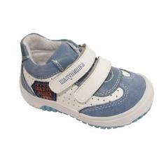 Туфли для мальчика на липучках Эмблема Шалунишка