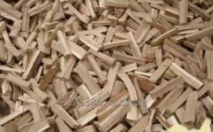 Firewood crude strong breeds, hornbeam, oak