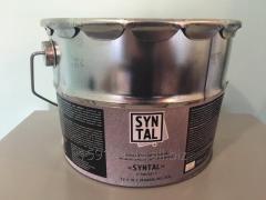 Metalpolymeric alyumonapolnenny protective and