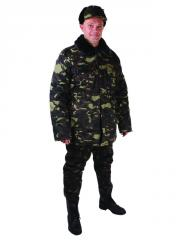 0410 The pea jacket is camouflage