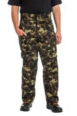 0415 Trousers camouflage wadded