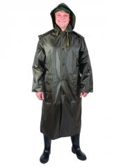 0630 A raincoat the rubberized man's
