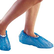 0703 Boot covers blue
