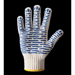 Перчатки трикотажные с ПВХ точкой Волна...