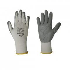 Перчатки нейлоновые покрытые нитрилом арт.: 4220