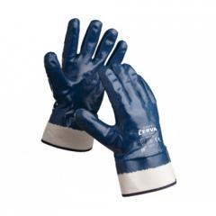 Перчатки х/б с полным покрытием нитрилом...