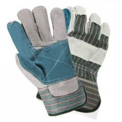 Перчатки комбинированные х/б+спилок усиленные арт.: 4290