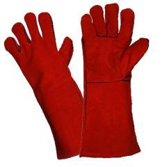 4293 Gloves of the welder spilkovy