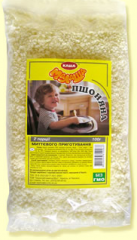 Millet cereal of instant preparation from TM