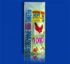 Пакет Фасовочный полиэтиленовый 10х22 №0 Курица