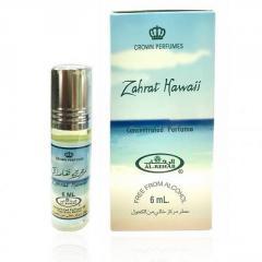 Арабские масляные духи Zahrat Hawaii Al-Rehab, 6мл