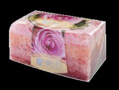 Глицер. мыло с губкой роза Natura Fgiva