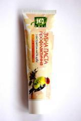 Зубная паста профилактическая с экстрактом листьев дуба ТМ Эколюкс