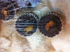 Конфеты натуральные на кэробе без сахара с вишенкой