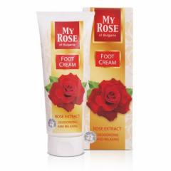 Foot cream My Rose of Bulgaria, Lavena