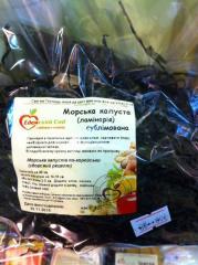 Морская капуста солнечной сушки 40г