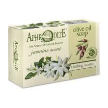 Натуральное оливковое мыло с Жасмином, 100 г Aphrodite  100 г