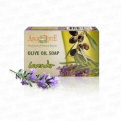 Натуральное оливковое мыло с Лавандой Aphrodite  100 г