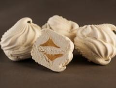 Натуральный зефир амур с фруктово-мармеладной начинкой