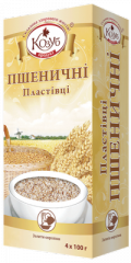 Wheaten flakes of instant preparation of 400 g