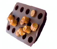 Силиконовая форма для выпечки мини-суфле размером 29х19х4,2 см