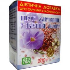Шрот семян льна 200 г