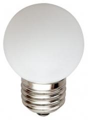 Лампа светодиодная 5LED/1W 230V E27 Red 45*70mm