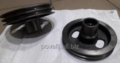 Pulley of the D-245 crankshaft 2x ruchyevy
