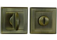 Фиксатор квадратная розетка античная бронза - квадрат 8
