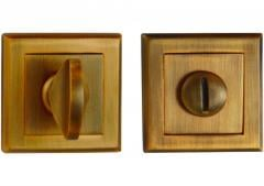 Фиксатор квадратная розетка античная медь - квадрат 8