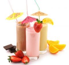 Сухие смеси  для молочных  коктейлей