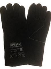 Gloves of the welder (gaiter spilkovy warmed)