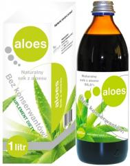 Aloe juice natural without sugar and konservantov1