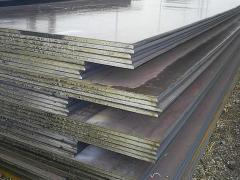 Large-size steel