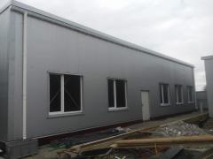 Les bâtiments en constructions légères métalliques