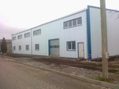 Edifici modulari di rapida costruzione