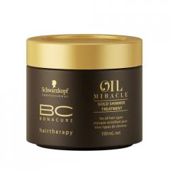 Schwarzkopf MASK GOLD SHINE OF BC OIL MIRACLE